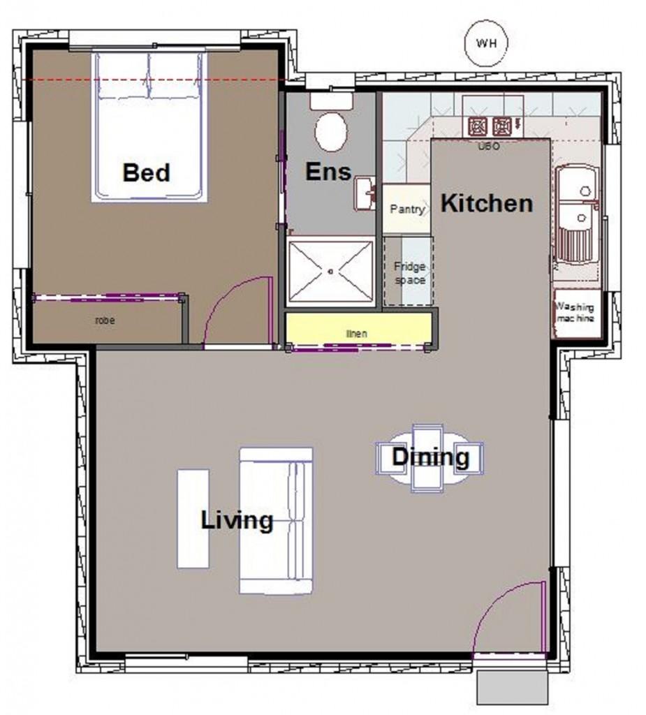 Baldwin Granny Flat home by Custom Styled Homes - Gold Coast & Brisbane Home Builders