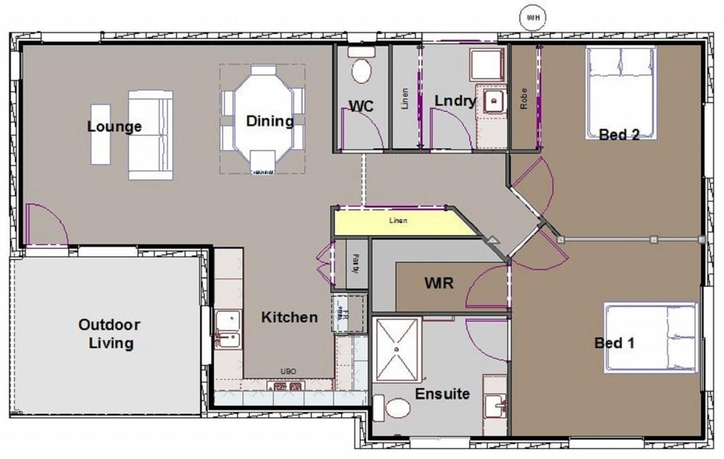 Harold Granny Flat home by Custom Styled Homes - Gold Coast & Brisbane Home Builders