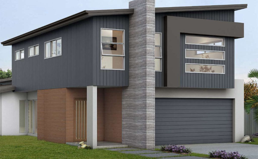 Emma-Lee Double Storey Home by Custom Styled Homes - Brisbane & Gold Coast Home Builders