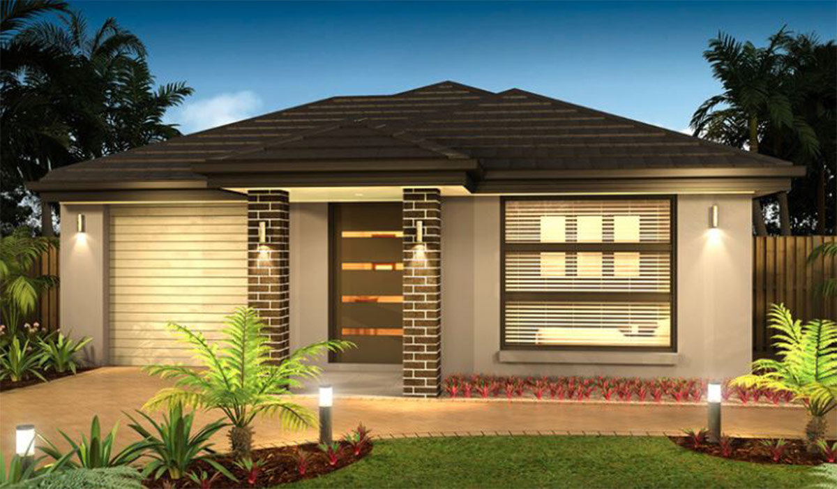 Julie Small Lot Home by Custom Styled Homes - Brisbane & Gold Coast Home Builders